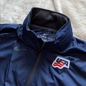 Nike Navy Windbreaker